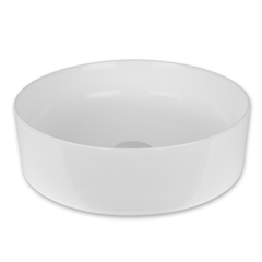 RKN1020BL Eko - Rubi Over-counter wash basin without overflow. White