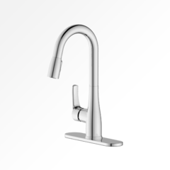 Vogt Laundry Faucet - Pull Down with 2 Function Spray