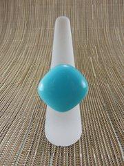 Blue (light) glass ring