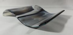 Smokey glass/black rectangular wave