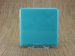 Blue (light) glass coaster