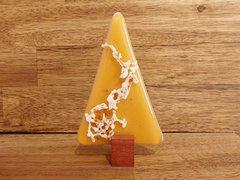 Christmas tree No. 57 (handmade glass/Jarrah)
