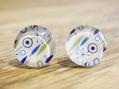 Art Glass No. 22 - stud earrings