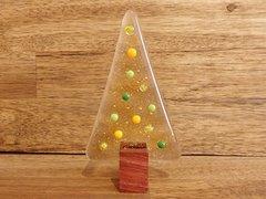 Christmas tree No. 60 (handmade glass/Jarrah)