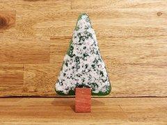 Christmas tree No. 58 (handmade glass/Jarrah)