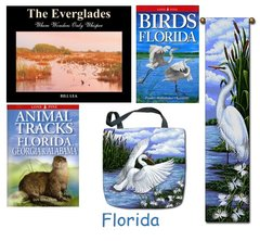 "Books - ""Books & Tapestry Set - Florida"" (3 books and 2 tapestries)"