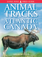 Book - Animal Tracks of Atlantic Canada by Ian Sheldon & Eder