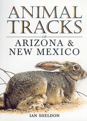 Book - Animal Tracks of Arizona and New Mexico by Ian Sheldon