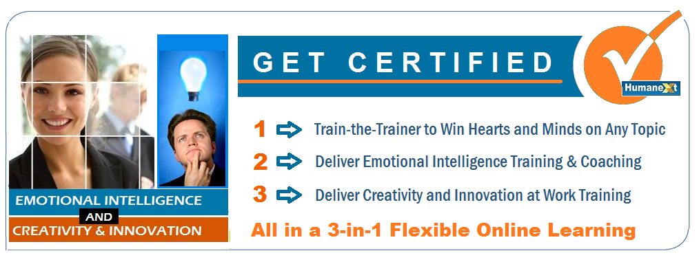 Certification for Emotional Intelligence and Creativity and Innovation at  Work