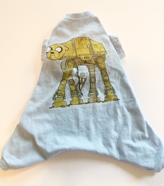 Cartoon Walker Pet Tee Jammie - Standard Small