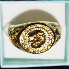 Ring - Mens 18K Gold Plated / Size: 13