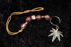Marijuana Leaf key chains made to order