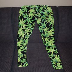 Marijuana Leaf Womens Leggings