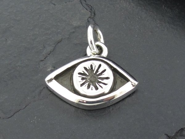 Eyeball pendant med alfred albrizio inc sterling assault cest eyeball pendant med aloadofball Choice Image