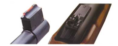 Ruger 10/22 Rifle Fire Peep Sight Set