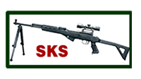 SKS Featherweight Bipod non swivel