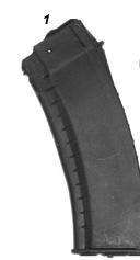 AK 74 Mag Circle 10  (Black)