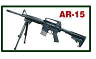 AR-15 Featherweight Bipod with Swivel