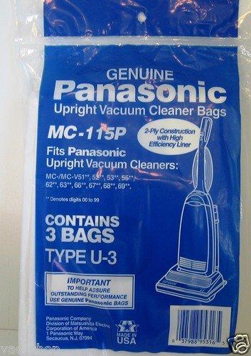 Panasonic Bags Type U, U-3, U-6