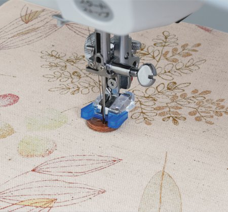 Janome Button Sewing Foot (7mm models only)