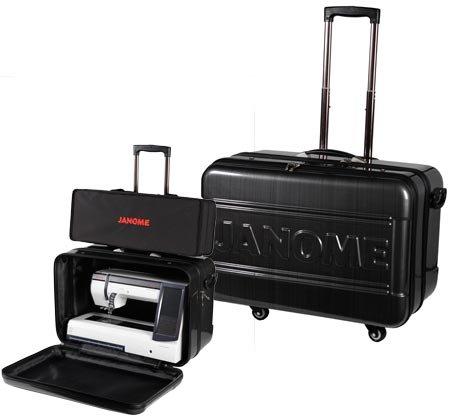 Janome Horizon Hard Roller Case MC12000/8900/8200