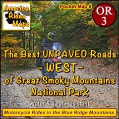 The Best UNPAVED roads WEST of Smoky Park
