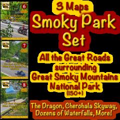 Smoky Park Series - 3 Maps