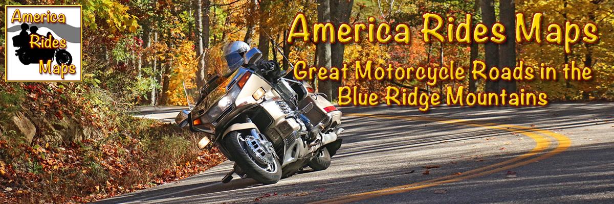America Rides Maps