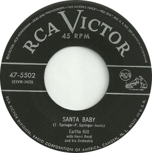 Santa Baby - Eartha Kitt ""