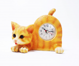"Orange Tabby Cat 6""W x 5""H"