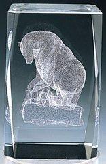 AIE LASER CUT CRYSTAL BEAR