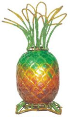 "12""H Pineapple Lamp"