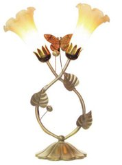 "15""H Butterfly Lamp"