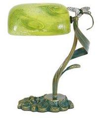 Green Banker's Lamp