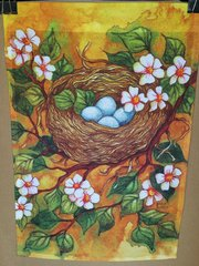 AIE BIRD NEST GARDEN FLAG