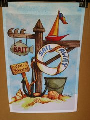 AIE SAIL AWAY GARDEN FLAG