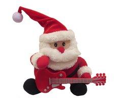 Christmas Guitar Santa