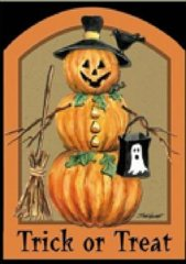 """Pumpkin Flag for Halloween 28""""x40"""""""