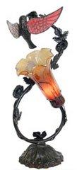 "17.5""H Spiral Hummingbird Lamp"