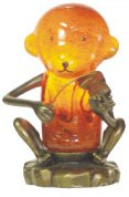 """7""""H Monkey Lamp"""