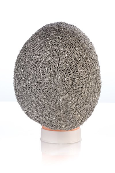 Small Sequin Snood-Grey (AT02GYL)