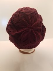 Lightweight Knit LINED Snood-Maroon (AT09MRL)