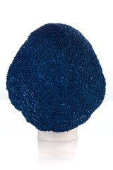 Small Sequin Snood-Navy (AT02NVL)