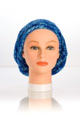 Chenille Shadow UNLINED Snood-Cobalt (AT05CBU)