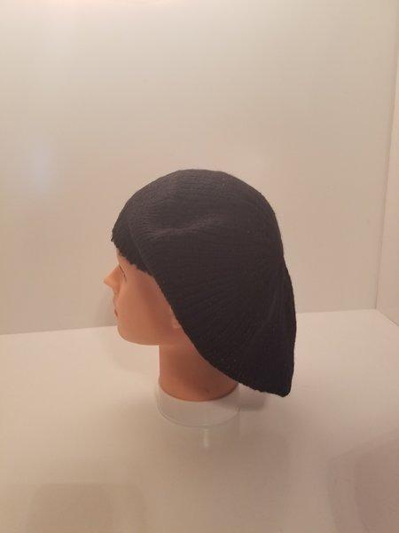 Knit Mini Sequin Snood-Black (AT12BLK)