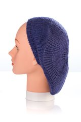 Knit Mini Sequin Snood-Navy (AT12NYU)