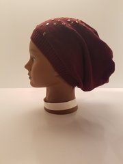 Maroon Finished Beanie