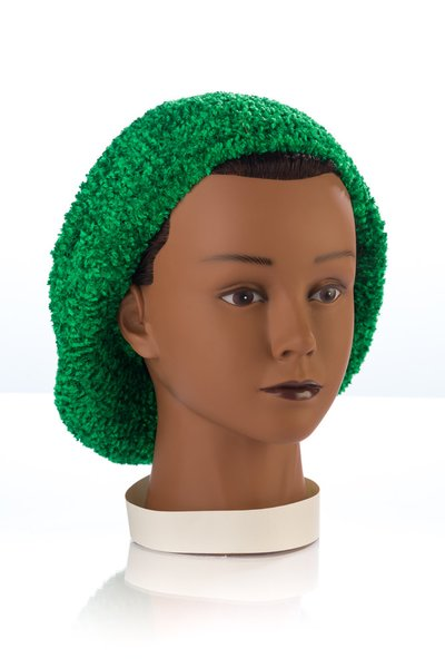 Chenille UNLINED Snood-Tree Green (AT04TGU)