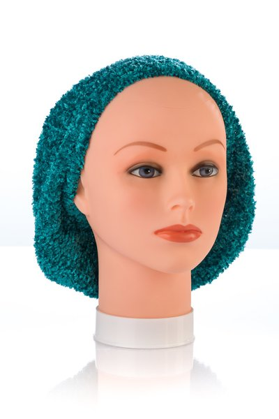 Chenille UNLINED Snood-Teal (AT04TEU)