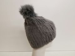 Grey 100% mink Fur (AT50GYHP)